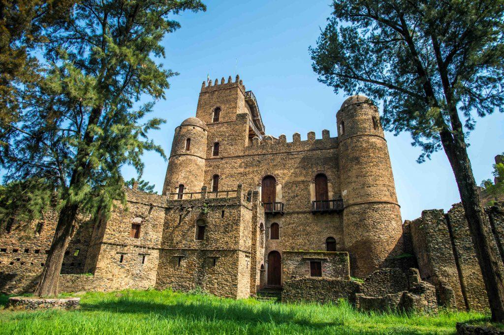 Gondar, Il palazzo di Fasiladas