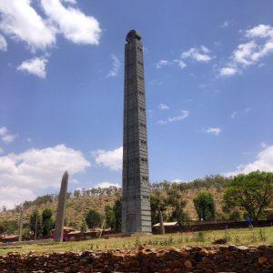 Axum, l'obelisco di Roma